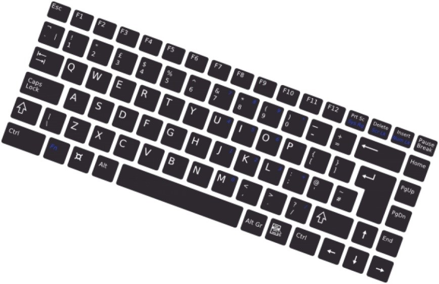 Repair and replace laptop keyboard